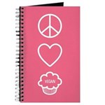 Peace, Love & Vegan Cupcakes Journal