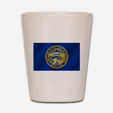 Flag of Nebraska Shot Glass