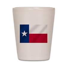 Texas State Flag Shot Glass