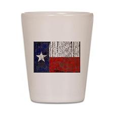 Texas Retro State Flag Shot Glass
