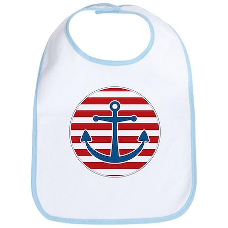 Sailor's Anchor Bib