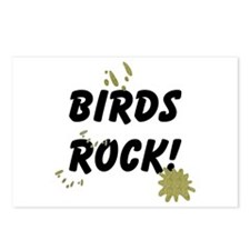 Birds Rock Postcards (Package of 8)