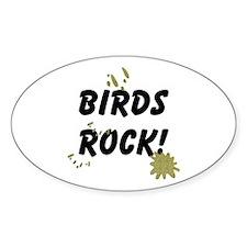 Birds Rock Decal