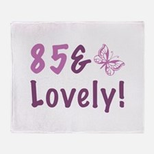 85 & Lovely Throw Blanket