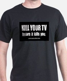 Kill Your TV official t-shirt
