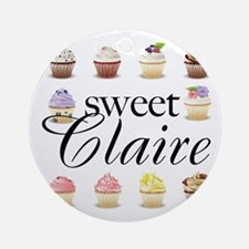 Sweet Claire Ornament (Round)