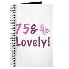 75 & Lovely Journal