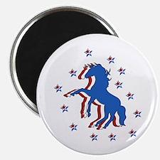 USA Horse Magnet