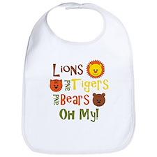 Lions & Tigers & Bears! Oh My Bib