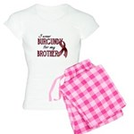 Wear Burgundy - Brother Women's Light Pajamas