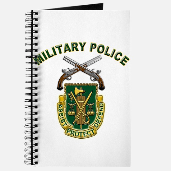 US Army Military Police Crest Journal
