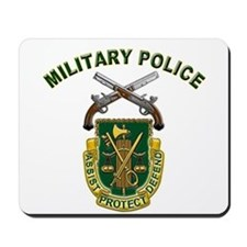 US Army Military Police Crest Mousepad