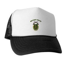 US Army Military Police Crest Trucker Hat