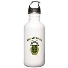 US Army Military Police Crest Water Bottle