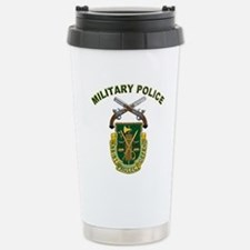 US Army Military Police Crest Travel Mug