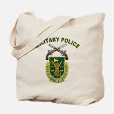 US Army Military Police Crest Tote Bag