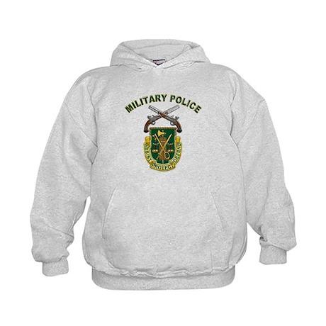 US Army Military Police Crest Kids Hoodie