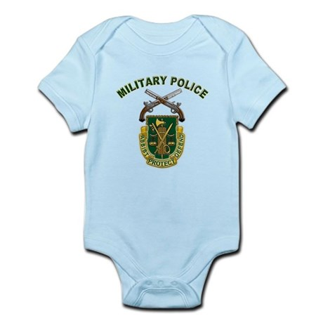 US Army Military Police Crest Infant Bodysuit