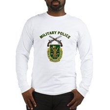 US Army Military Police Crest Long Sleeve T-Shirt