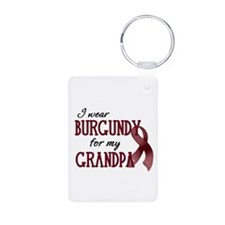 Wear Burgundy - Grandpa Keychains