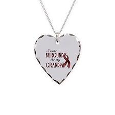 Wear Burgundy - Grandpa Necklace