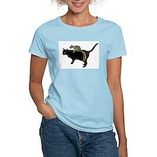 Squirrel on Cat T-Shirt