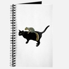 Squirrel on Cat Journal
