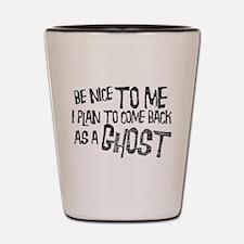 Ghosts Shot Glass