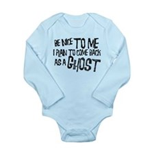 Ghosts Long Sleeve Infant Bodysuit