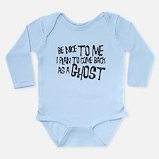 Ghosts Long Sleeve Infant Bodysuit