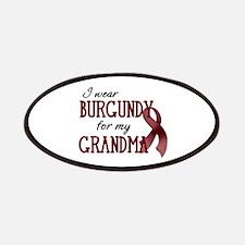 Wear Burgundy - Grandma Patches