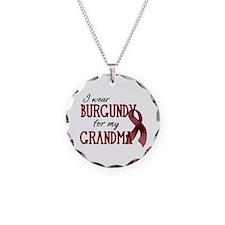Wear Burgundy - Grandma Necklace