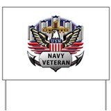 Navy veteran Yard Signs