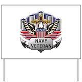 Navy veteran Yard Signs