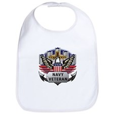 USN Official Navy Veteran Bib