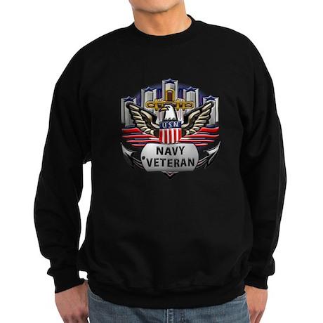 USN Official Navy Veteran Sweatshirt (dark)
