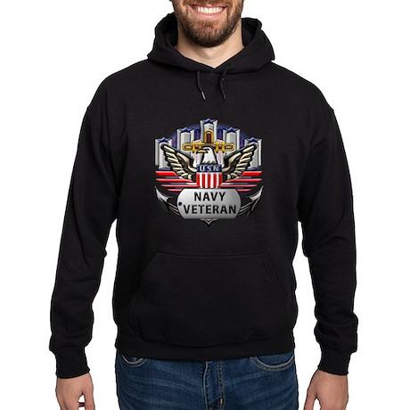 USN Official Navy Veteran Hoodie (dark)