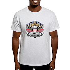 USN Official Navy Veteran T-Shirt