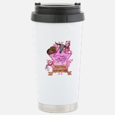 CowGirl Wild Thing never been Travel Mug