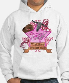 CowGirl Wild Thing never been Hoodie