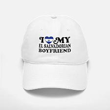 I Love My El Salvadorian Boyfriend Baseball Baseball Cap