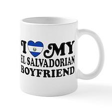 I Love My El Salvadorian Boyfriend Mug