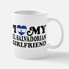 I Love My El Salvadorian Girlfriend Mug