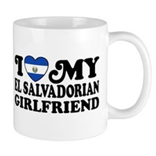 I Love My El Salvadorian Girlfriend Mug