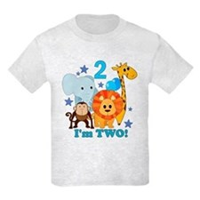 2nd Birthday Jungle T-Shirt