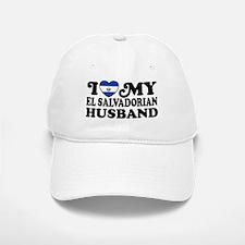 I Love My El Salvadorian Husband Baseball Baseball Cap