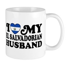 I Love My El Salvadorian Husband Mug