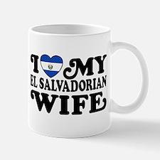 I Love My El Salvadorian Wife Mug