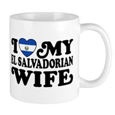 I Love My El Salvadorian Wife Mug