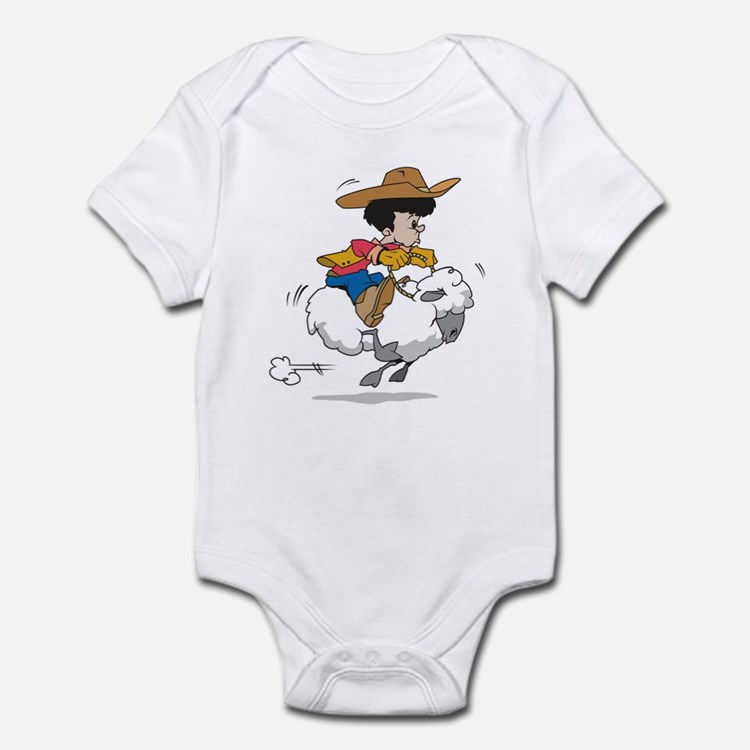 Mutton Buster Infant Creeper